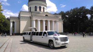 Limousine for Rent in Chisinau, Moldova - Cadillac Escalade