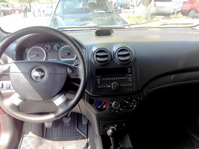 Rent a Car Moldova, Chisinau - Chevrolet Aveo Red5