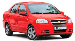 Rent a Car Moldova, Chisinau - Chevrolet Aveo Red