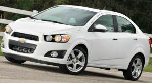 Car Rent Chisinau, Moldova - Chevrolet Aveo White