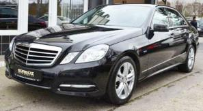 rent a car for wedding chisinau/Moldova - MERS E CLASS black