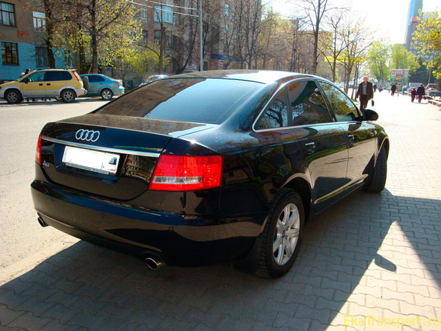 Audi A6 - Car for Rent Chisinau, Moldova2