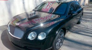 rent a car for wedding chisinau/Moldova - BENTLEY black